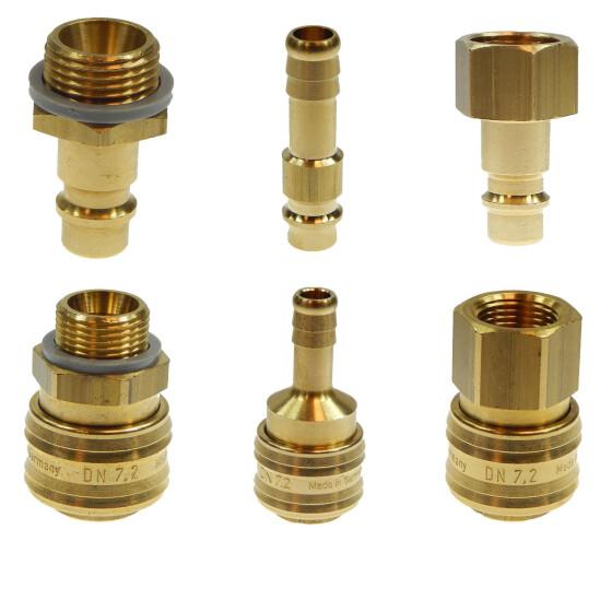 Druckluftkupplung Schnellkupplung 13 NW Schlauchanschluß Kupplungsdose Druckluft