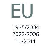 EU 1935/2004 2023/2006 10/2011